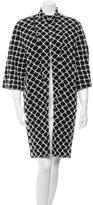 Chanel Knit Open Front Coat