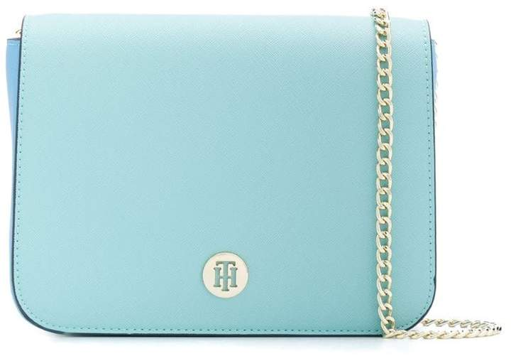 d08230720b1d3 Tommy Hilfiger Blue Shoulder Bags - ShopStyle