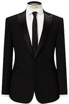 Kin By John Lewis Fenn Jacquard Slim Fit Dress Suit Jacket, Black
