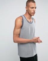 Bellfield Vest In Jacquard Pattern