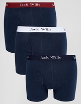 Jack Wills Trunks In 3 Pack