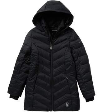 Spyder Boundless Long Nylon Jacket (Big Girls)