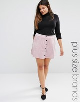 Alice & You Button Up Cord A Line Skirt