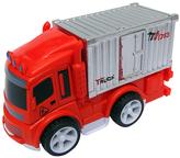 Orange Metal Buddies Cargo Truck