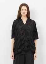 Junya Watanabe black spike knit s/l sweater