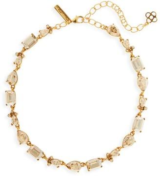 Oscar de la Renta Classic Swarovski Crystal Necklace