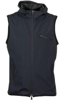 Herno Hooded Zip Vest