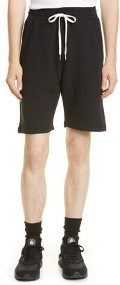 John Elliott Crimson Drawstring Shorts