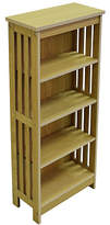 Tall Sleek CD and DVD Media Storage - Light Wood