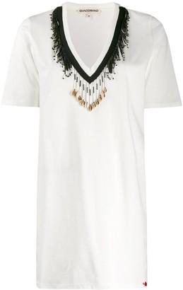 Giacobino bead embellished T-shirt