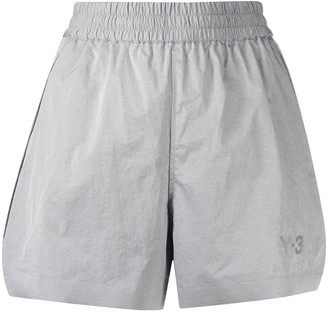 Y-3 Pleat Branded Shorts