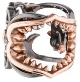 Stephen Webster Filigree Shark Jaw Ring