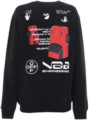 Off-White Cars Cotton Jersey Sweatshirt
