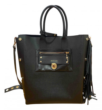 Mangano Black Synthetic Handbags