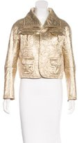 DSQUARED2 Brocade Cropped cJacket