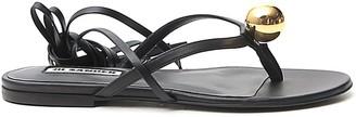 Jil Sander Ankle-Tie Sandals
