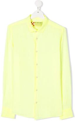 Mc2 Saint Barth Kids Agnes linen shirt