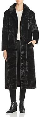 Unreal Fur Blackbird Long Faux Fur Coat