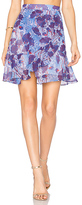Carven Mini Skirt in Purple