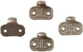 Rejuvenation Set of 4 Cast Iron Finger Lifts Patented 1871