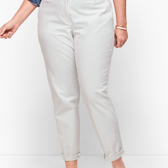 Talbots Relaxed Chinos - Stripe