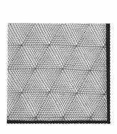 Reiss Reiss Bolton - Silk Printed Pocket Square In White, Mens