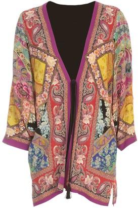 Etro Kimono Jacket Campeiro W/ Fantasy