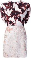 MSGM printed top velvet dress