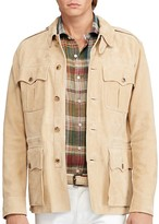 Polo Ralph Lauren Suede Safari Jacket