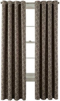 Martha Stewart MarthaWindowTM Hampton Lattice Grommet-Top Curtain Panel
