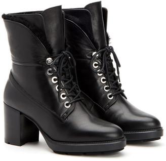 Aquatalia Idris Leather Weatherproof Boot