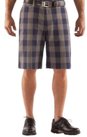 Under Armour Men's Square Plaid 10.5'' Golf Shorts