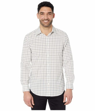 Perry Ellis Men's Stretch Check Shirt