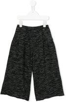 Douuod Kids - wide leg trousers - kids - Cotton/Acrylic/Polyamide/Viscose - 4 yrs
