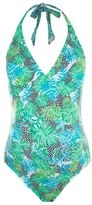 Topshop Maternity geometric print swimsuit