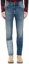 Maison Margiela Men's High-Waist Five-Pocket Jeans-BLUE