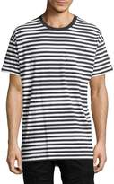 Zanerobe Men's Rugger Stripes Cotton Tee