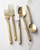 Cambridge Silversmiths 20-Piece Mala Flatware Set, Yellow Metallic