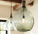 Pottery Barn Clift Oversized Glass Pendant