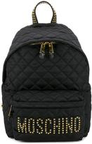 Moschino quilted backpack - women - Nylon/metal - One Size