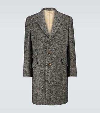 Gucci Wool herringbone coat