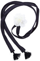 Betsey Johnson Betseys Drama Flower Tie Scarf
