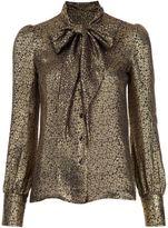 Saint Laurent tie neck blouse