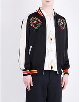 Stella Mccartney Nice One Satin Bomber Jacket