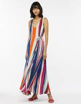 Monsoon Eliana Stripe Maxi Dress