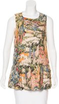 RED Valentino Sleeveless Printed Tunic