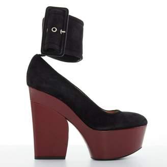 Celine \N Black Suede Heels