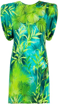 Versace Jungle Print Mini Dress