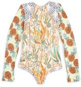 Maaji Girl's Sunsand Reversible One-Piece Swimsuit