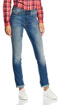 G Star Women's 3301 High Rise Straight Bionic Slander Super Stretch Medium Aged Jean